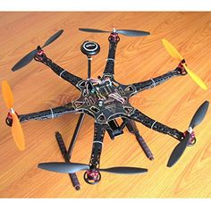 Hobbypower DIY S550 Hexacopter Frame with APM28 Flight Controller NEO7M GPS  HP2212 920KV Brushless Motor  Simonk 30A ESC -- Find out more about the great product at the image link.