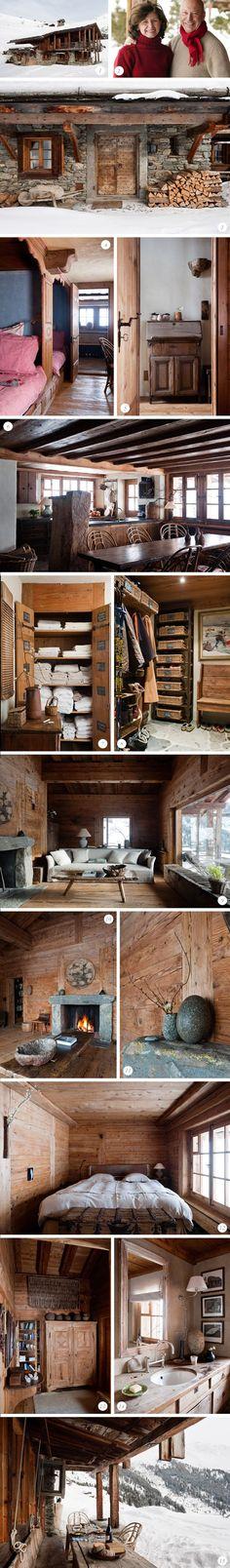 Rustic Cabin: