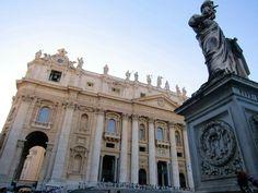 Vaticano, desde Plaza de San Pedro, Roma.