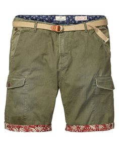Cargo shorts - Scotch & Soda
