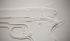 Force & Mind are opposite / 50x40 cm / Papercutting #papercutting #art #handmade #street #graffiti #type #paper #neur_one