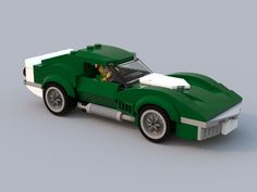 Last week we featured the Speed Champions style Ferrari Dealership build going on over at the pitch-your-own-design platform Lego Ideas. To scale with Lego& blocky little mini figures, what the Speed Champions style builds lack in Lego Sports, Lego Wheels, Lego Kits, Lego Speed Champions, Lego Pictures, Lego Vehicles, Lego Military, Lego Modular, Dibujo