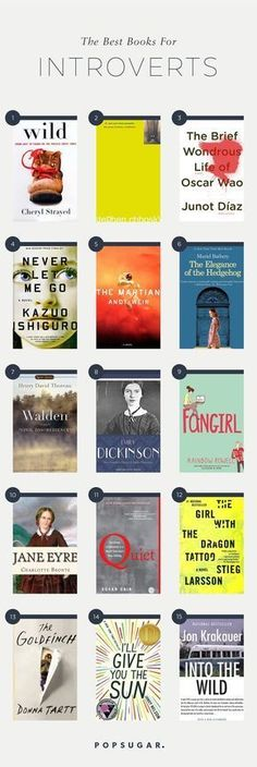 16 Books That Every Introvert Needs to Read Bücher der Bibel Liste # Info: 5560060311 I Love Books, Great Books, My Books, Good Books To Read, Book List Must Read, Best Books Of All Time, Books To Read For Women, Book Suggestions, Book Recommendations