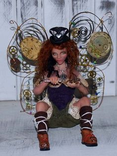 Steampunk fairy on ebay http://www.ebay.com/itm/OOAK-Hand-Sculpted-Polymer-Clay-Fantasy-Steampunk-Fairy-Art-Doll?item=360444628431=ViewItem&_trksid=p5197.m7&_trkparms=algo%3DLVI%26itu%3DUCI%26otn%3D2%26po%3DLVI%26ps%3D63%26clkid%3D7206088350733554873#ht_5596wt_1173