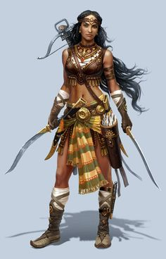 Azad Persian Warrior Woman Daylamite Guerrilla Commander of Gilan Freedom Fighter Azad as a successor, the same as her predecessors Artemisia and Apranik, often fought with two swords. Azad was a superb archer and dagger thrower. Azad was a fine example of a strong Gilak Woman from Gilan.