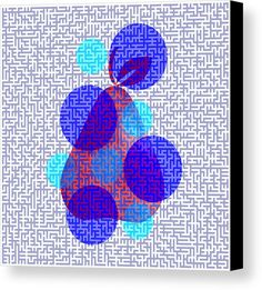 3150b0cccbe7 Decorate any room of your house with an abstract colorful canvas print   fineartamerica Blue Canvas