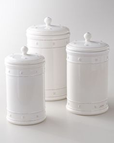 Berry & Thread Canisters by Juliska at Horchow.