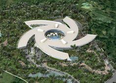 Karnala Mumbai India For Luxury Modern Panoramic Five Star Hotel Architecture Design