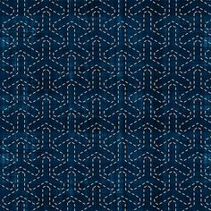 Sashiko: Bishamon-Kikko - Tortoise Shell fabric by bonnie_phantasm on Spoonflower - custom fabric