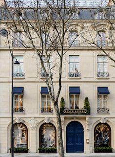 Ralph Lauren's restaurant in Paris...  I want to go!