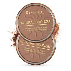 Natural Bronzer | Rimmel London US Best contouring powder, it's light and matte and easily blendable.