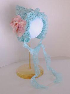 Ravelry: Lacy Pixie Bonnet pattern by Crochet by Jennifer