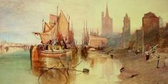 'Turner's Modern and Ancient Ports: Passages Through Time' Review: A Familiar Painter in a New Light - WSJ