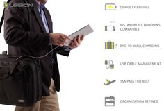 Legion Concepts-Ultimate Device Charging Briefcase | Indiegogo