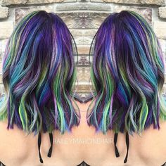 15 Galaxy Hair Ideas That Will Make You Starry-Eyed