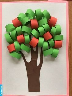 Art activity with ribbon papers Fall Crafts For Kids, Summer Crafts, Toddler Crafts, Projects For Kids, Diy For Kids, Kids Crafts, Arts And Crafts, Bible Crafts, Paper Crafts