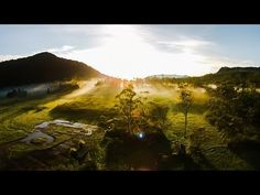 Epic morning view from Indonesia with love, DJI Phantom 2 Vision - YouTube