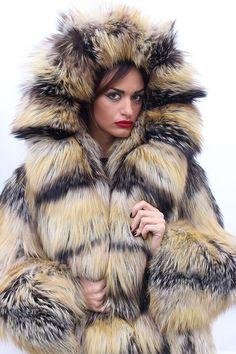 FUR Coat Jacket Silver FOX Pelzmantel Fuchs Fourrure Pelliccia Volpe Renard ЛИСА | eBay