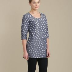 Lovely Seasalt Porthole Tunic with bird print, light and perfect for spring. In stock now with a large range of Seasalt spring summer clothes.
