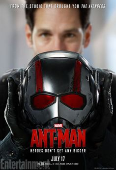 AntMan 12-28-2015 Really liked this movie, one of the best Superhero movies!