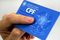 Contribuinte poderá atualizar CPF online