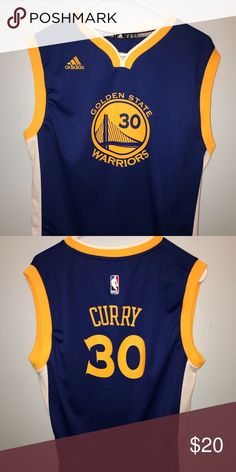 """Adidas """"Stephen Curry"""" Youth XL Jersey YOUTH XL. 10 10 condition d93474a28"""