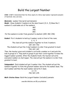 CCSS: 2.NBT.1 Understand that the three digits of a three-digit number represents amountsof hundreds, tens, and ones.A very detailed and scaf...