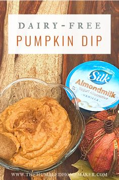 This is a sponsored conversation written by me on behalf of Silk. The opinions and text are all mine. This dairy-free pumpkin dip is one of the easier yet yummiest fall treats you can make. Pumpkin Dip, Healthy Pumpkin, Vegan Pumpkin, Canned Pumpkin, Fall Recipes, Real Food Recipes, Vegan Recipes, Vegan Desserts, Vegan Apps