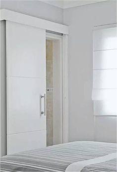 Sliding Bathroom Doors, Internal Sliding Doors, Sliding Door Design, Home Design Decor, Door Design Interior, Bathroom Design Inspiration, Furniture Inspiration, Home Entrance Decor, House Gate Design