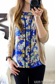 Stitch Fix florals.