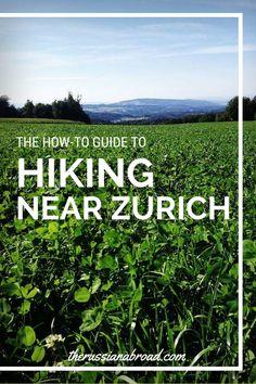 Hiking near Zurich, Switzerland