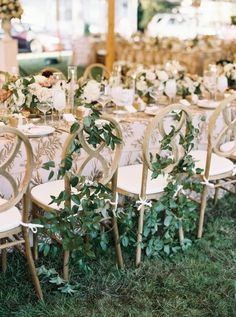 A Wedding Planner's Tented Wedding Inspired by Flowers at ShoreWay Acres Inn – Style Me Pretty Beach Wedding Reception, Tent Wedding, Magical Wedding, Wedding Reception Decorations, Our Wedding, Destination Wedding, Dream Wedding, Beach Weddings, Wedding Chairs
