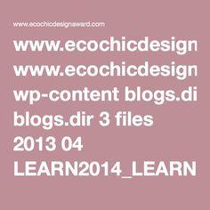 www.ecochicdesignaward.com wp-content blogs.dir 3 files 2013 04 LEARN2014_LEARN2014_FashionEnvironment_ENG_FINAL.pdf