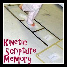 Bible Hopscotch: Kinetic Verse Memorization