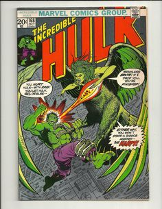 60 best bronze age comics images on pinterest comic books art the incredible hulk no 168 marvel comics group october 1973 fandeluxe Choice Image