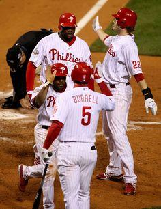 Ryan Howard in World Series: Tampa Bay Rays v Philadelphia Phillies, Game 4