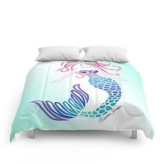 Mermaid Bedding Sets! The absolute best mermaid quilts, tails, duvet covers, comforter sets and more.