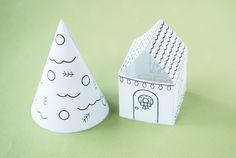 Create Christmas Memories with a Printable Village | Handmade ...