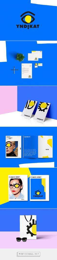YNDIKAT Eyewear Shop Branding by Sara Pallesen