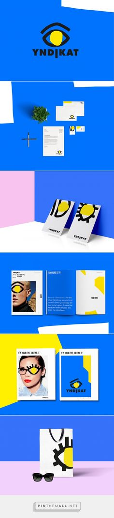 YNDIKAT Eyewear Shop Branding by Sara Pallesen   Fivestar Branding Agency – Design and Branding Agency & Curated Inspiration Gallery