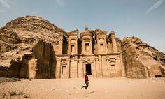 Monastery Petra Jordan Jump