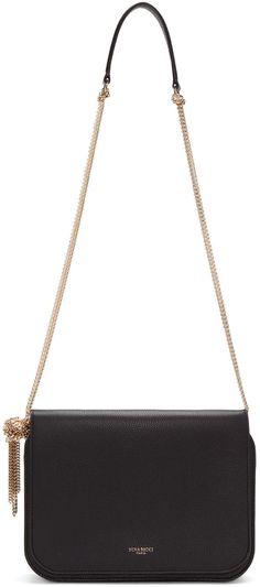 NINA RICCI Black Small Elide Bag.  ninaricci  bags  shoulder bags  lining 03e2fb42a4af8