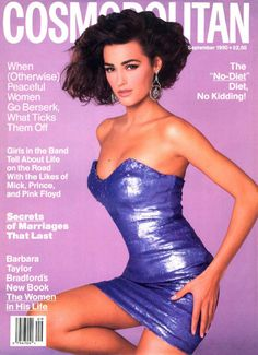 cosmopolitan magazine april 1990 | Cosmopolitan , September 1990: Yasmin shows that she isn't afraid of ...