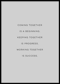 Coming together Poster in the group Posters & Prints at Desenio AB (3122)