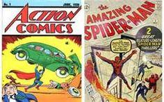 Rare comic books price guide, valuable, expensive, world rarest comics Most Expensive Comics, Rare Comic Books, Man 2, Action Comics 1, Price Guide, Vintage Comics, Novels, Superhero Superman, Bing Images