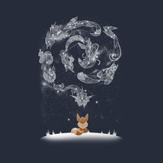 Check out this awesome 'Starry+Eeveelutions' design on @TeePublic!