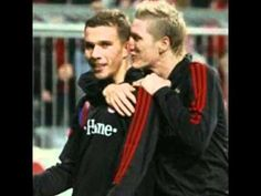 Bastian Schweinsteiger und Lukas Podolski - Stay