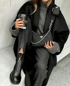 Trend Fashion, Winter Fashion Outfits, Fashion 2020, Look Fashion, Fall Outfits, Casual Winter Outfits, Autumn Fashion, Womens Fashion, Holiday Fashion