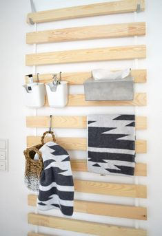 IKEA Bed Slats: Wall Hanging Organizers For Every Room