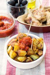 Pommes de terre piment�es, Patatas bravas (Espagne)